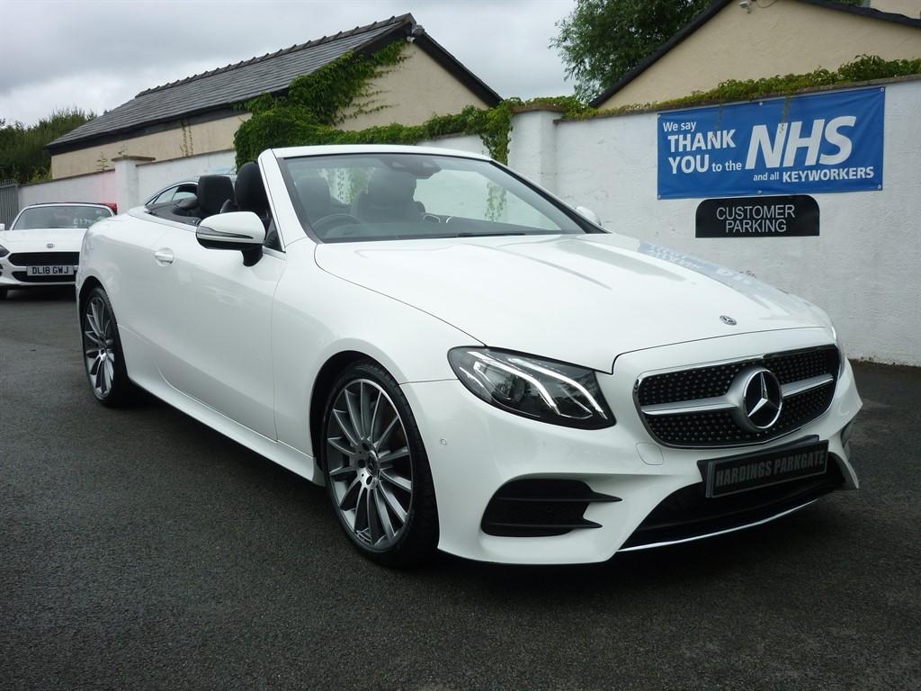 used Mercedes E300 E  CLASS AMG LINE CONVERTIBLE AUTO in wirral-cheshire