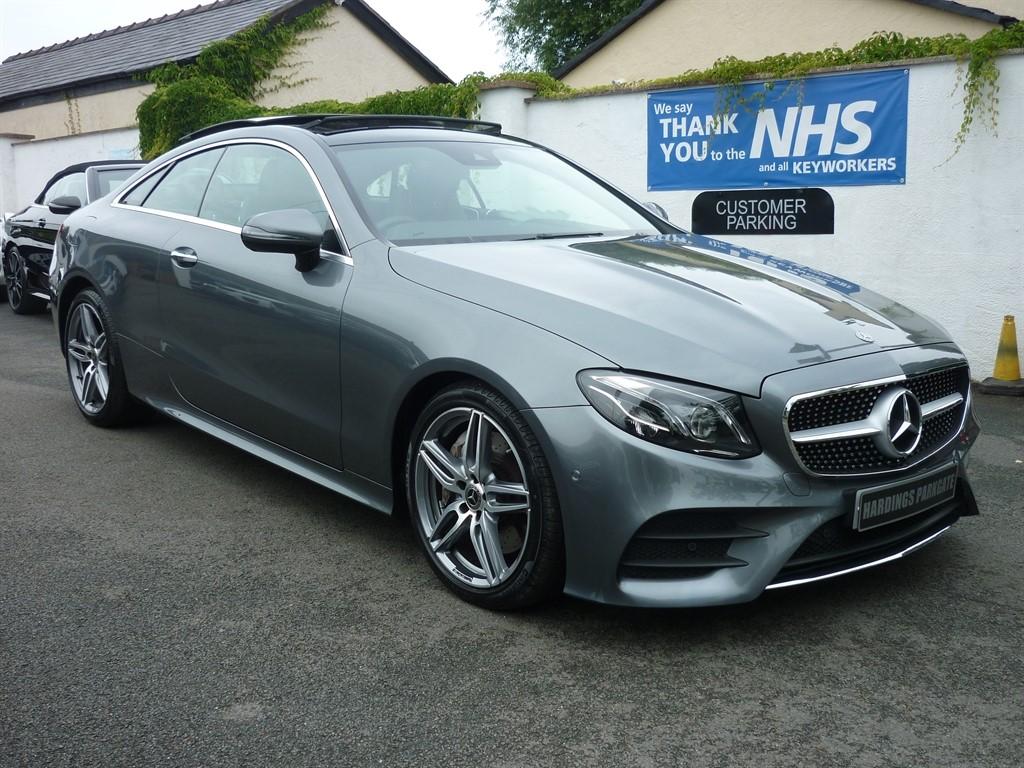 used Mercedes E300 E CLASS COUPE AMG LINE PREMIUM PLUS AUTO in wirral-cheshire