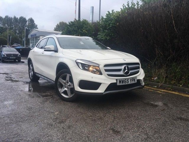 used Mercedes GLA200 A-CLASS GLA 200 D AMG LINE in wirral-cheshire