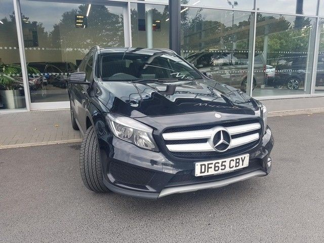 used Mercedes GLA200 A-CLASS GLA 200 D AMG LINE [NAV] in wirral-cheshire