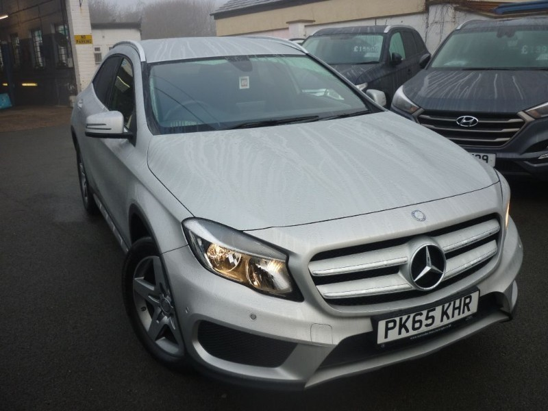 used Mercedes GLA200 A-CLASS GLA 200 D AMG LINE EXECUTIVE [NAV] in wirral-cheshire