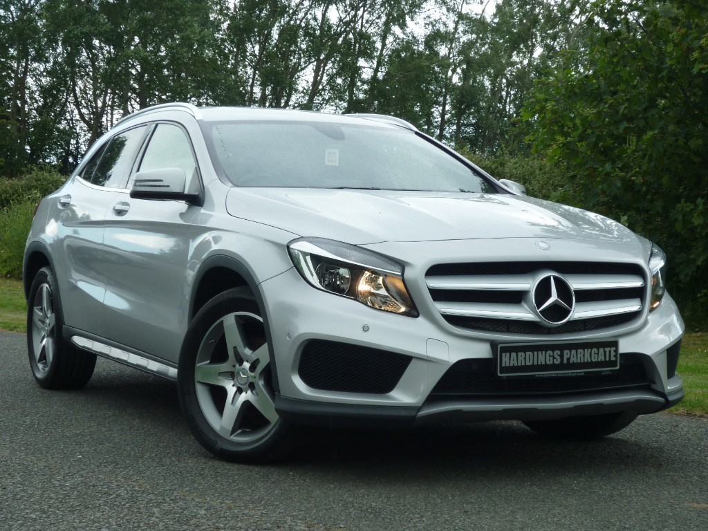 used Mercedes GLA200 AMG LINE EXECUTIVE [NAV] in wirral-cheshire