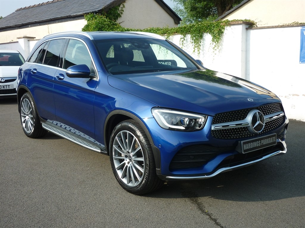 used Mercedes GLC300 GLC  D 4MATIC AMG LINE PREMIUM used cars in wirral-cheshire