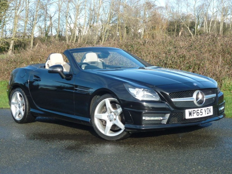 used Mercedes 170 SLK 250d AMG SPORT TIP AUTO in wirral-cheshire