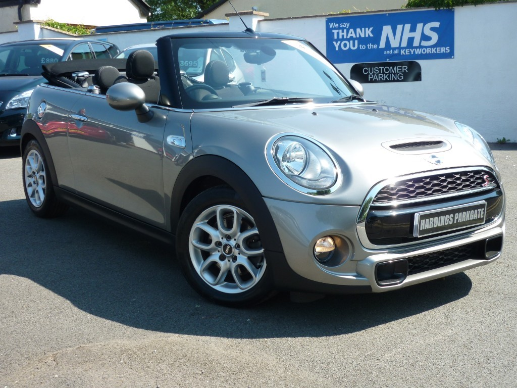 used MINI Convertible COOPER S + AA WARRANTY used cars in wirral-cheshire