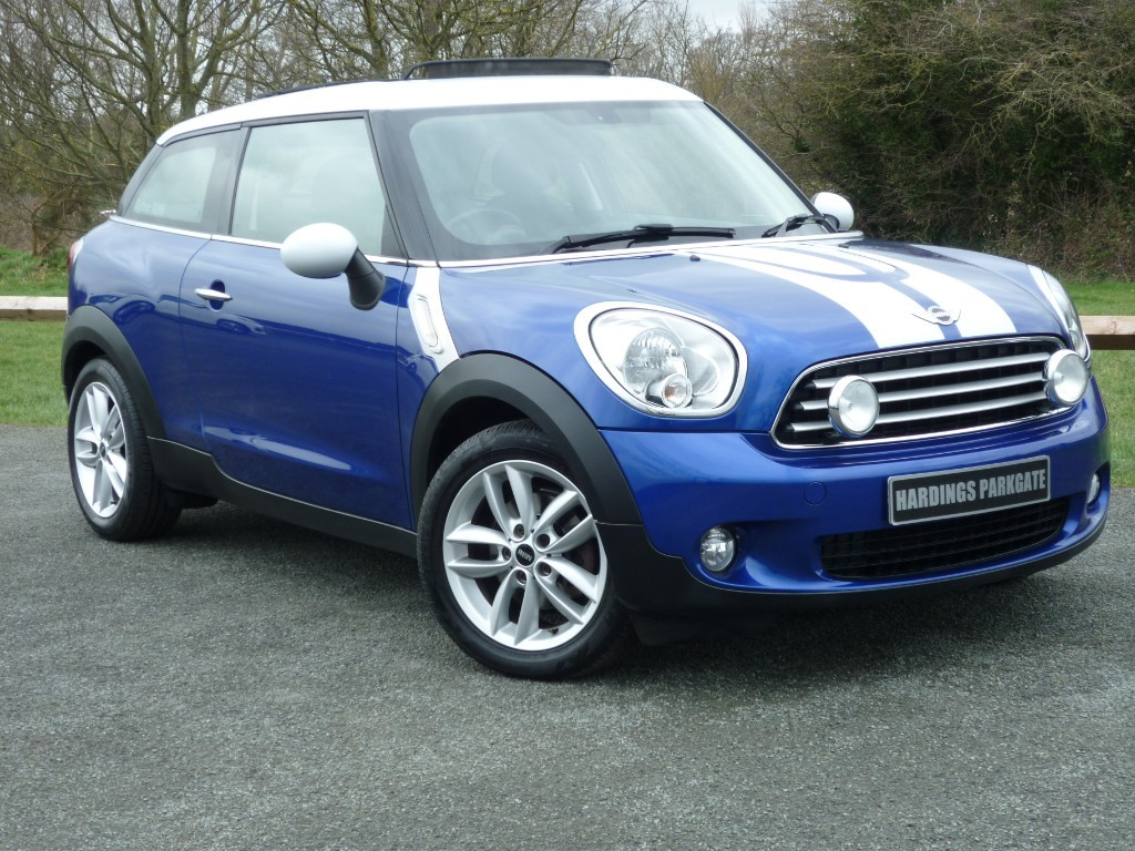 used MINI Paceman COOPER [CHILI PACK II + PANORAMIC ELECTRIC ROOF] WITH 2 YEARS FREE SERVICING* in wirral-cheshire