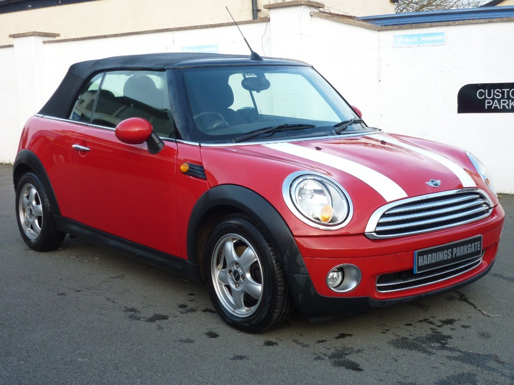 used MINI Convertible COOPER WITH 2 YEARS FREE SERVICING* used cars in wirral-cheshire