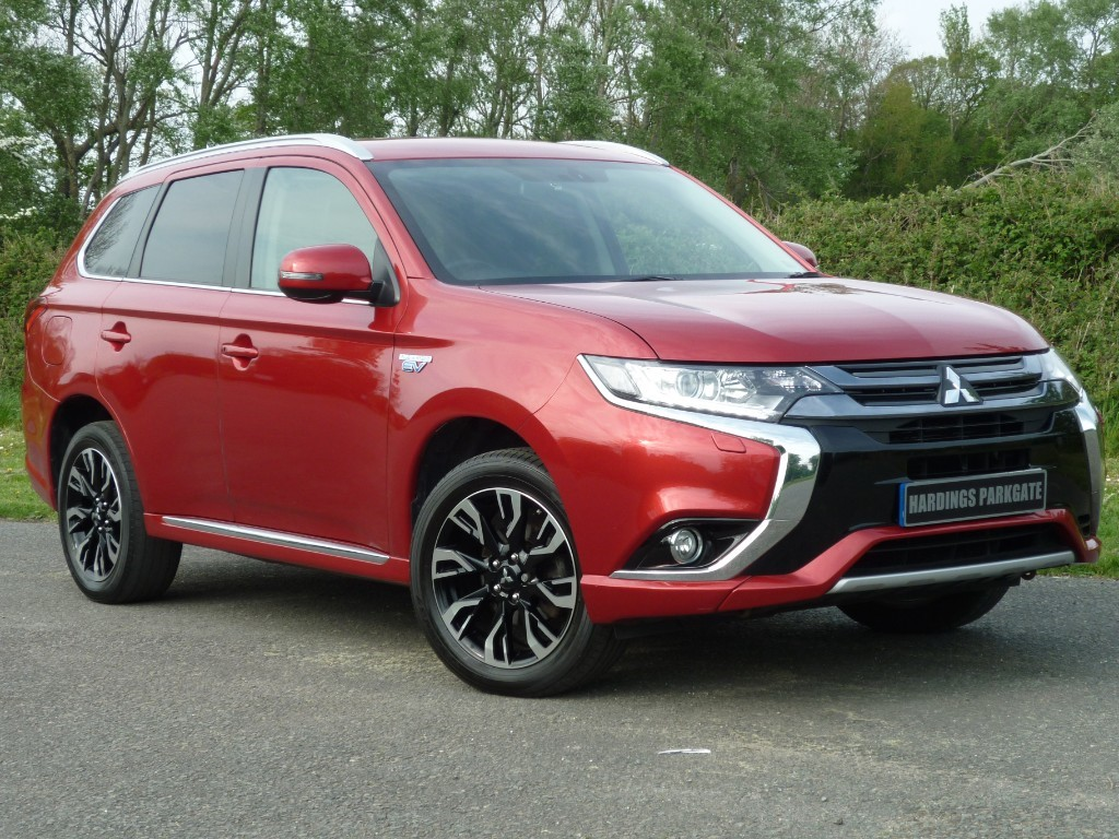 used Mitsubishi Outlander PHEV GX 3H PLUS AUTO in wirral-cheshire