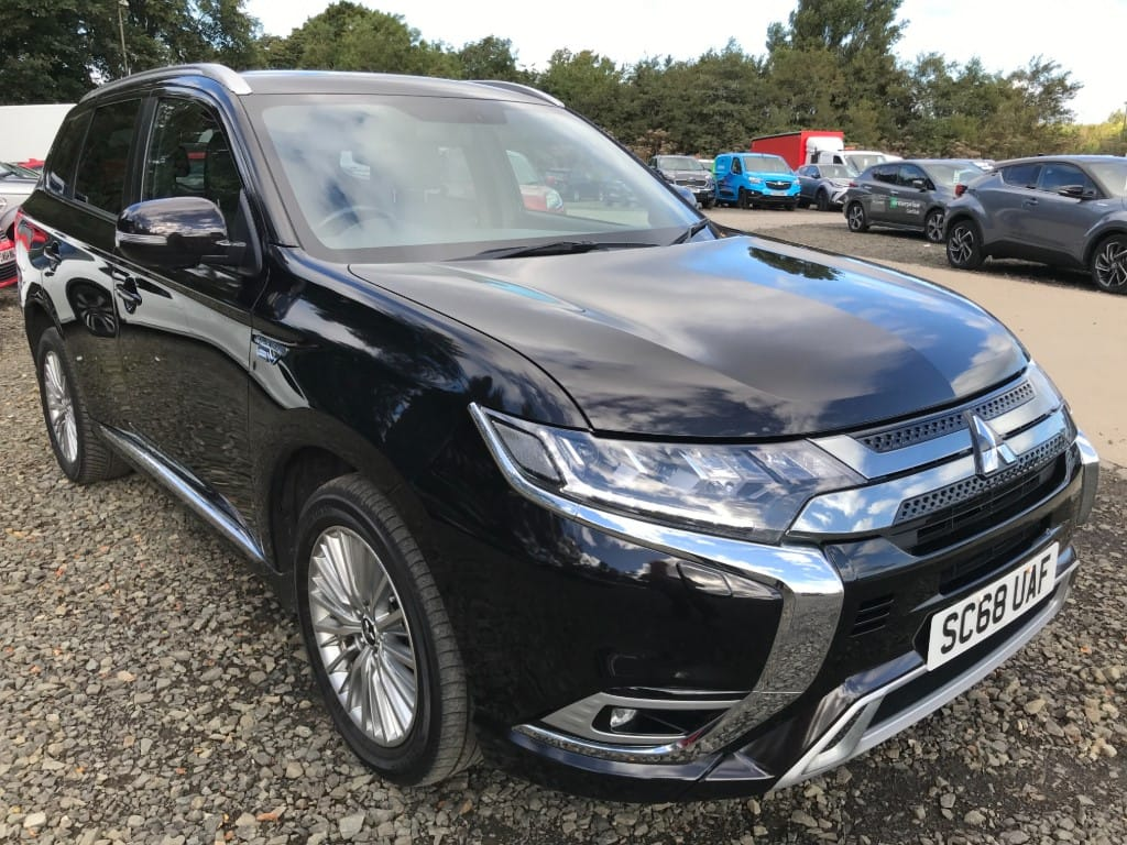 used Mitsubishi Outlander PHEV 4H used cars in wirral-cheshire