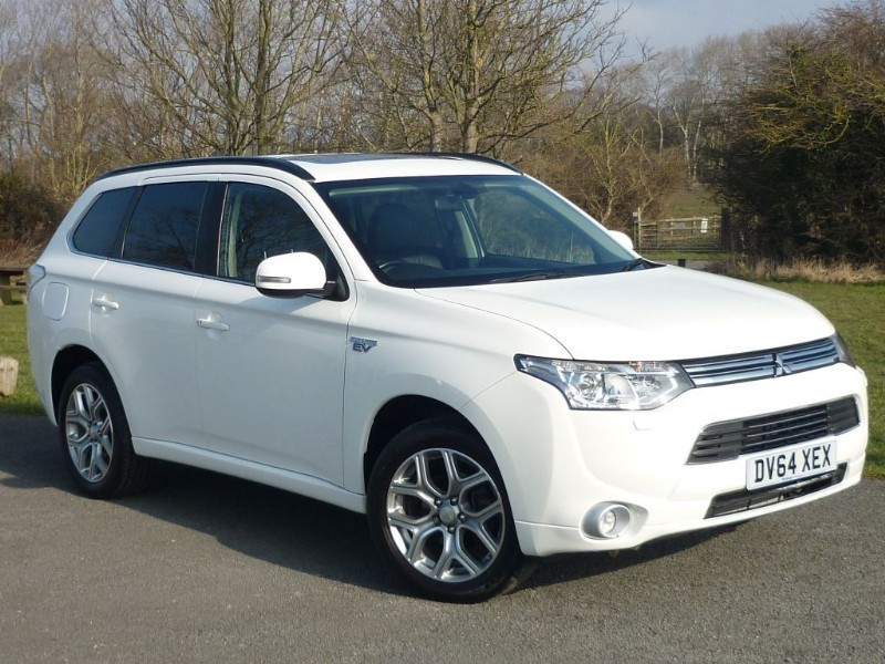 used Mitsubishi Outlander PHEV GX 4H FREE HOME CHARGING POINT* in wirral-cheshire
