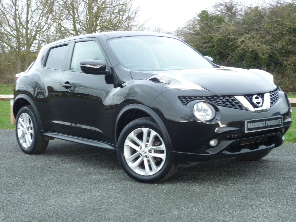 used Nissan Juke ACENTA DIG-T in wirral-cheshire