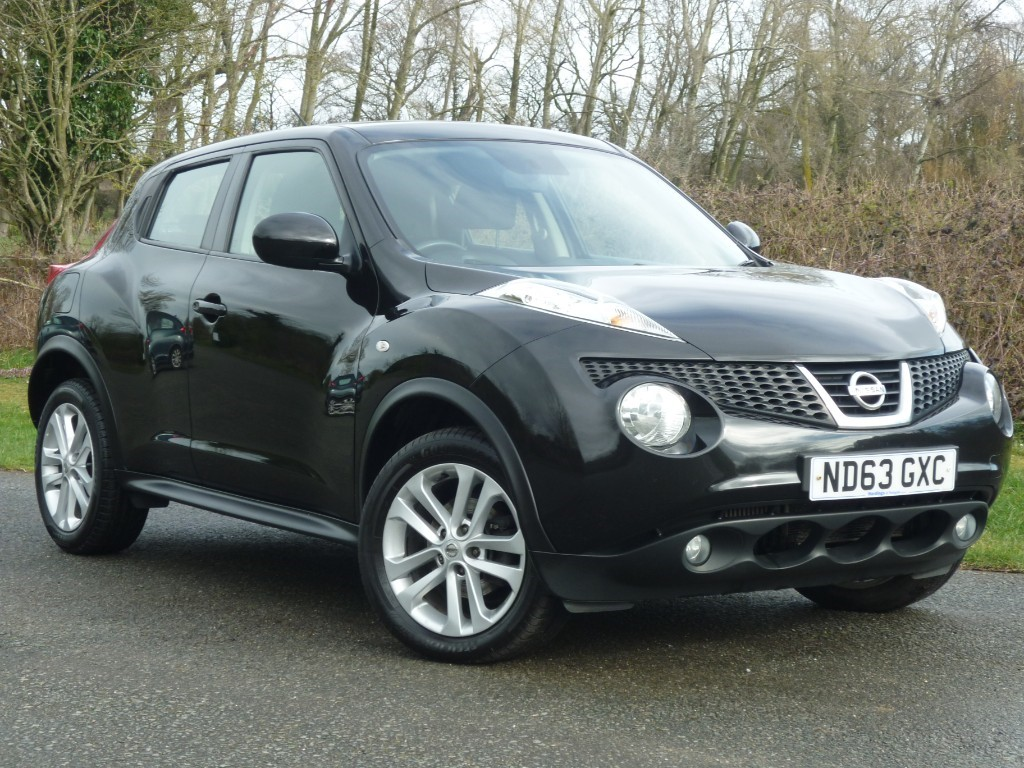 used Nissan Juke ACENTA DCI in wirral-cheshire