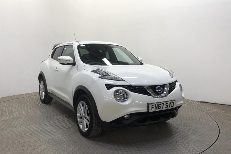 used Nissan Juke N-CONNECTA XTRONIC AUTO EXTERIOR+COMFORT PACK in wirral-cheshire
