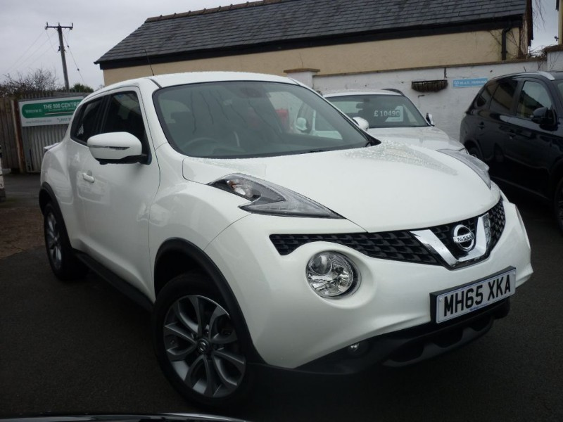 used Nissan Juke TEKNA XTRONIC AUTO in wirral-cheshire