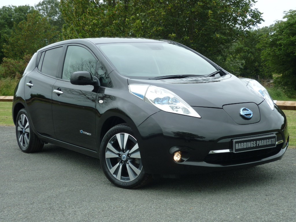 used Nissan Leaf TEKNA AUTO in wirral-cheshire
