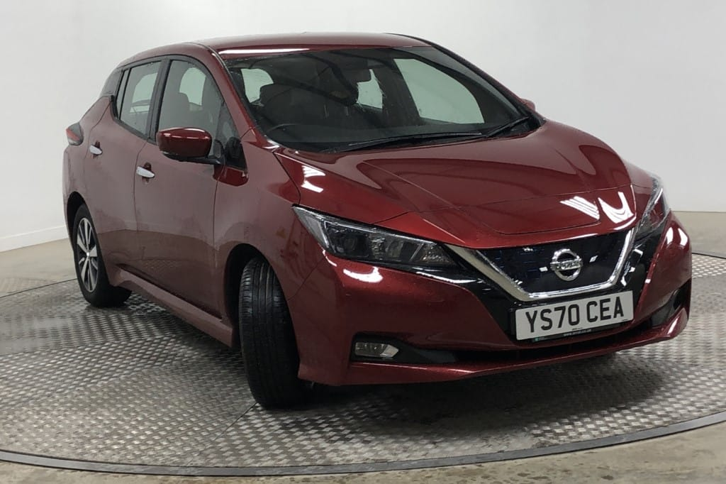 used Nissan Leaf 110kW ACENTA 40kWh [6.6kw Charger] used cars in wirral-cheshire