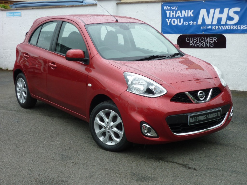 used Nissan Micra ACENTA NAV + AA WARRANTY used cars in wirral-cheshire