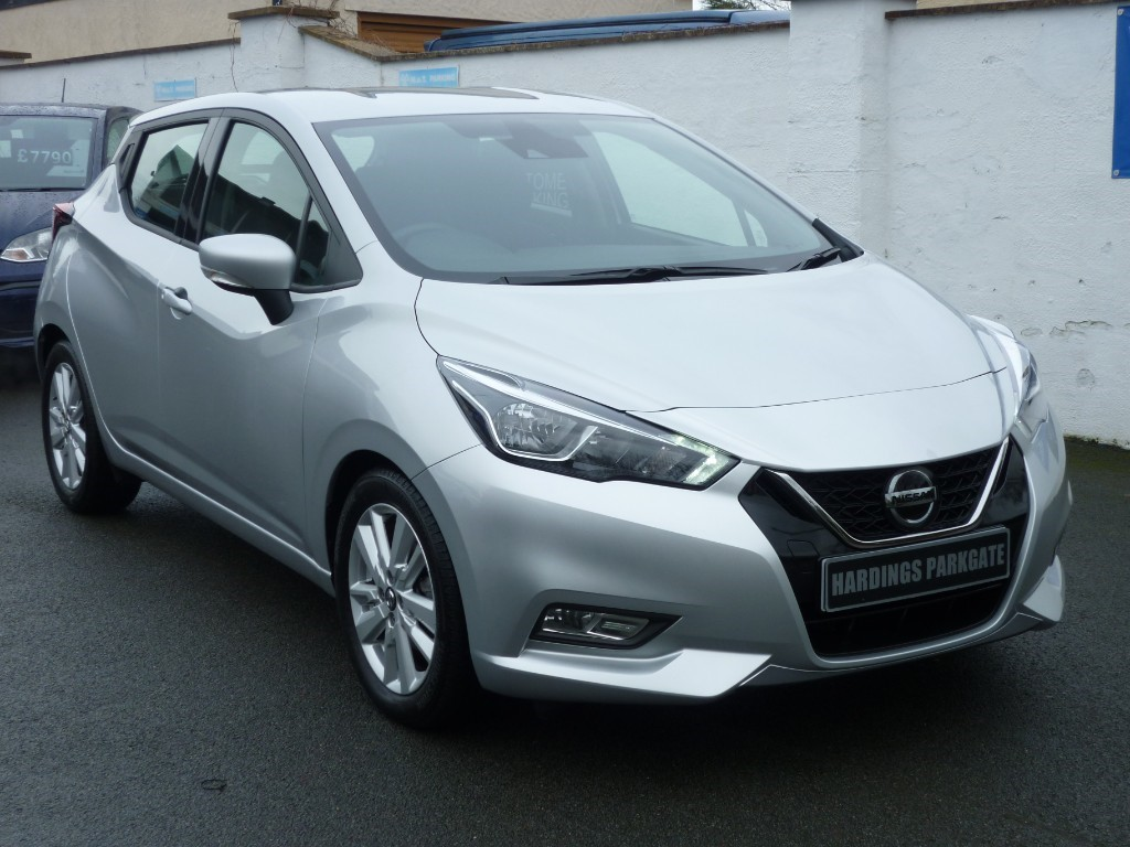 used Nissan Micra IG-T ACENTA XTRONIC AUTO WITH 2 YEARS FREE SERVICING* used cars in wirral-cheshire