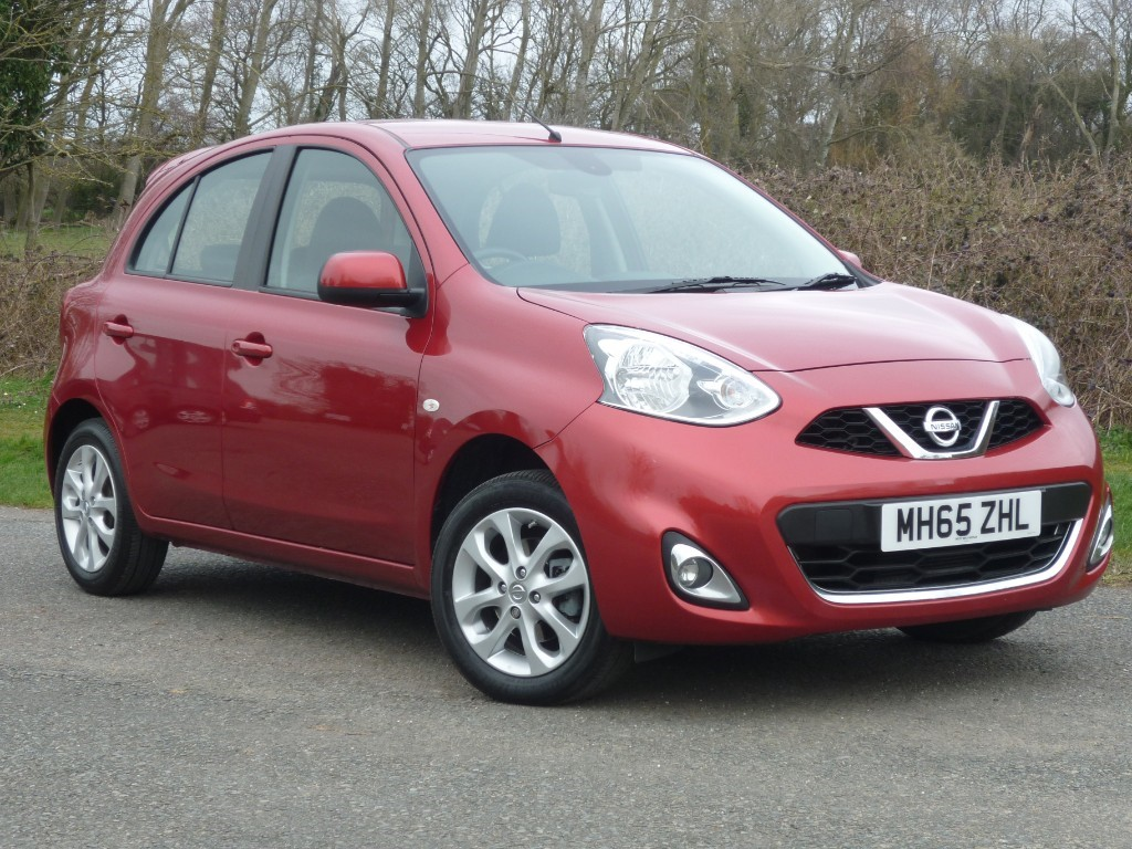 used Nissan Micra ACENTA in wirral-cheshire