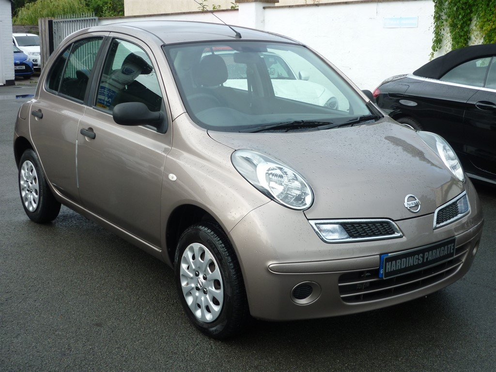 used Nissan Micra VISIA in wirral-cheshire