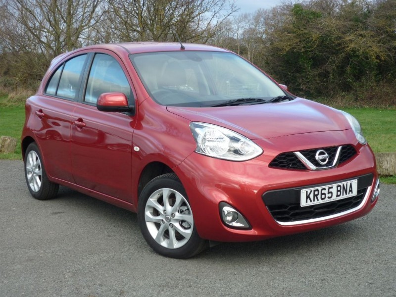 used Nissan Micra ACENTA AUTO NAVIGATION in wirral-cheshire