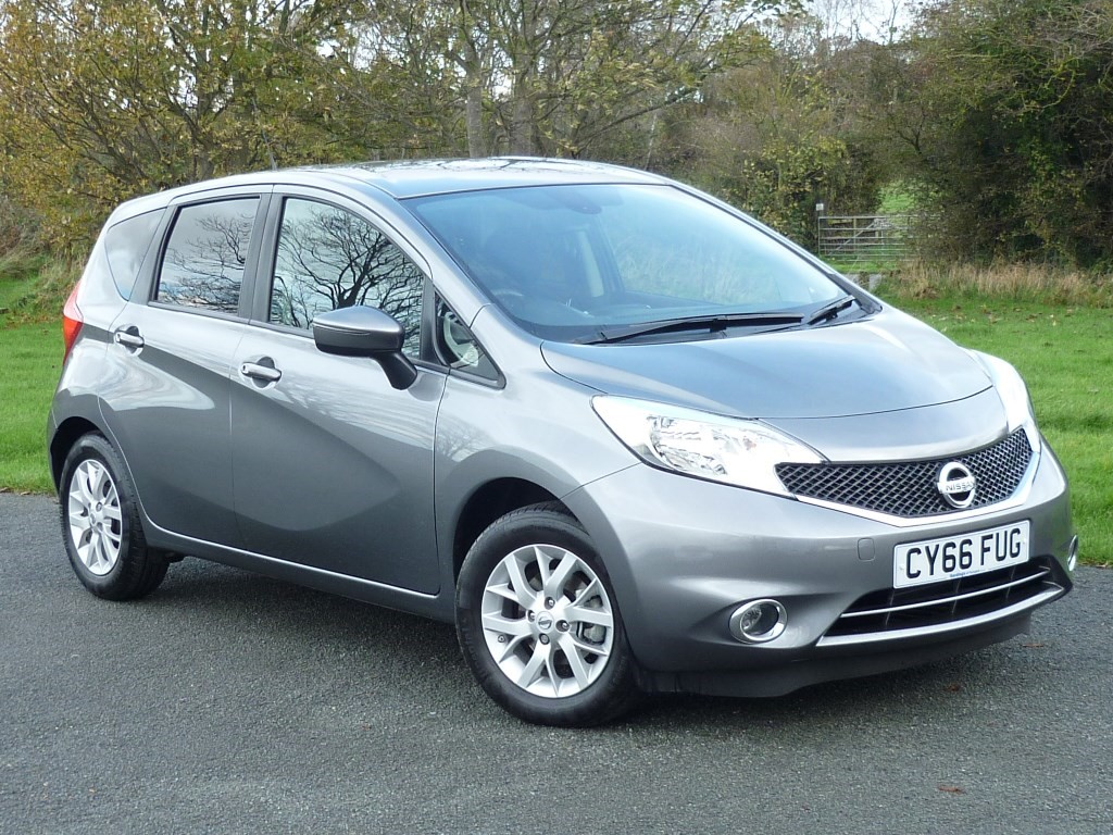 used Nissan Note ACENTA PREMIUM WITH 1 YEAR FREE AA MEMBERSHIP** in wirral-cheshire