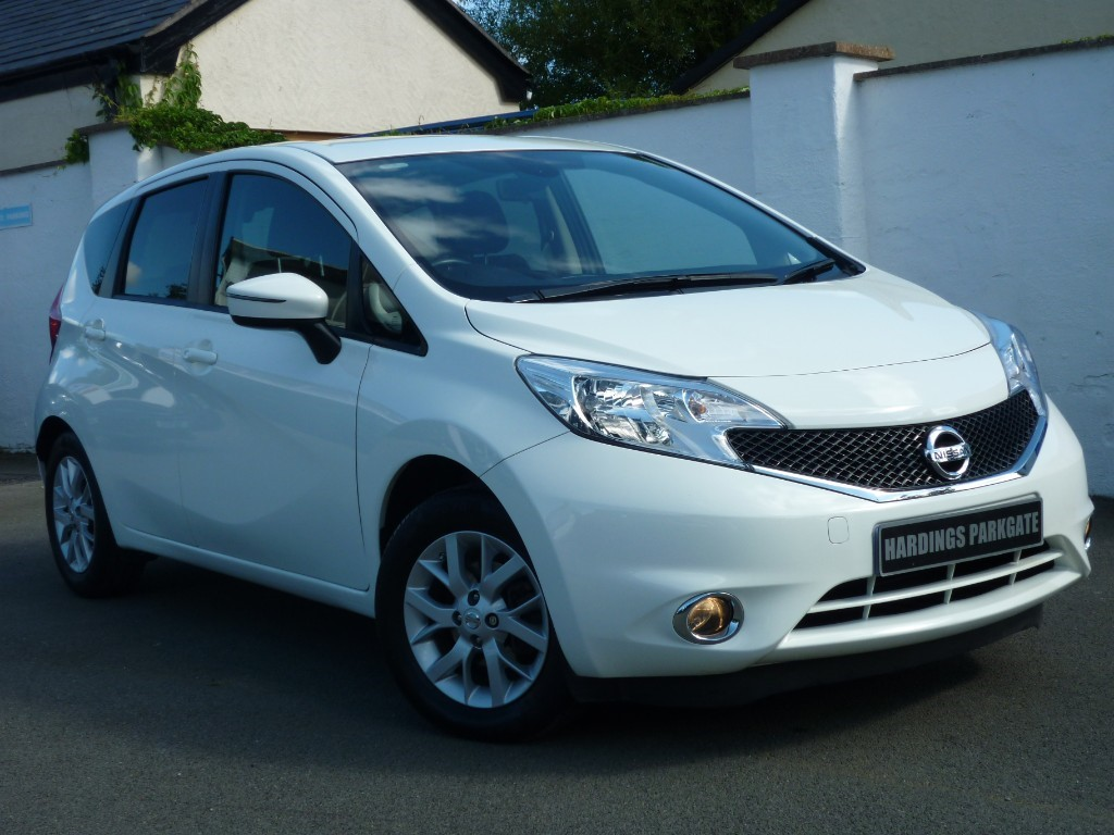 used Nissan Note ACENTA PREMIUM NAV 2 FREE SERVICES + FREE MOT'S FOR LIFE* in wirral-cheshire