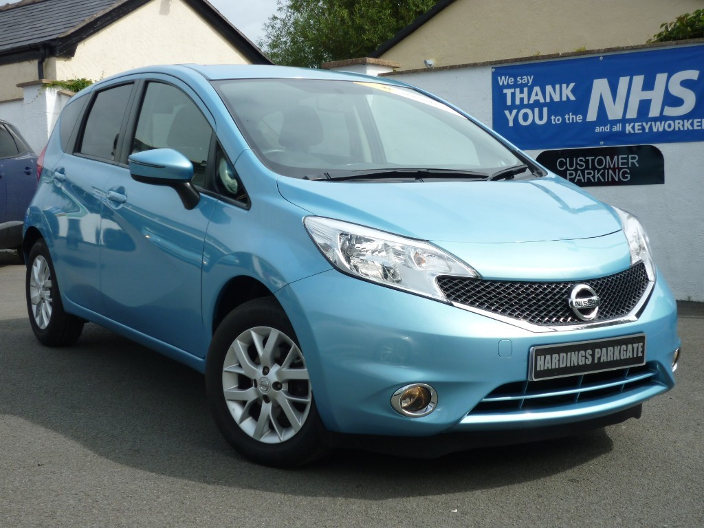 used Nissan Note ACENTA WITH 2 YEARS FREE SERVICING* used cars in wirral-cheshire