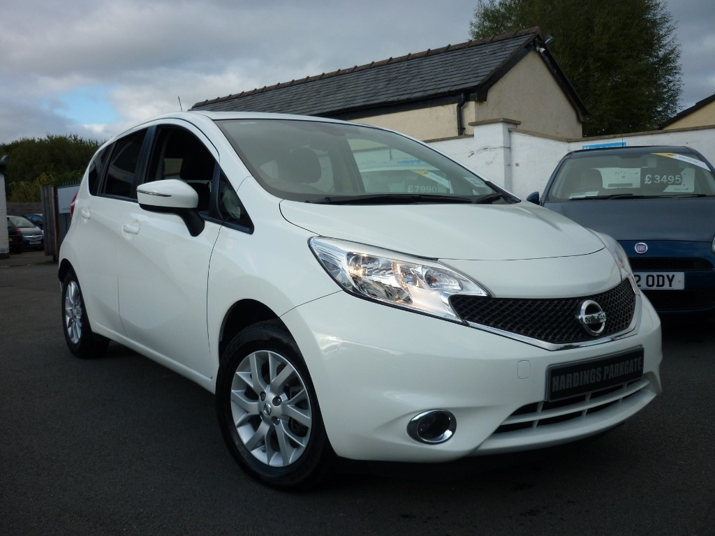 used Nissan Note ACENTA PREMIUM in wirral-cheshire