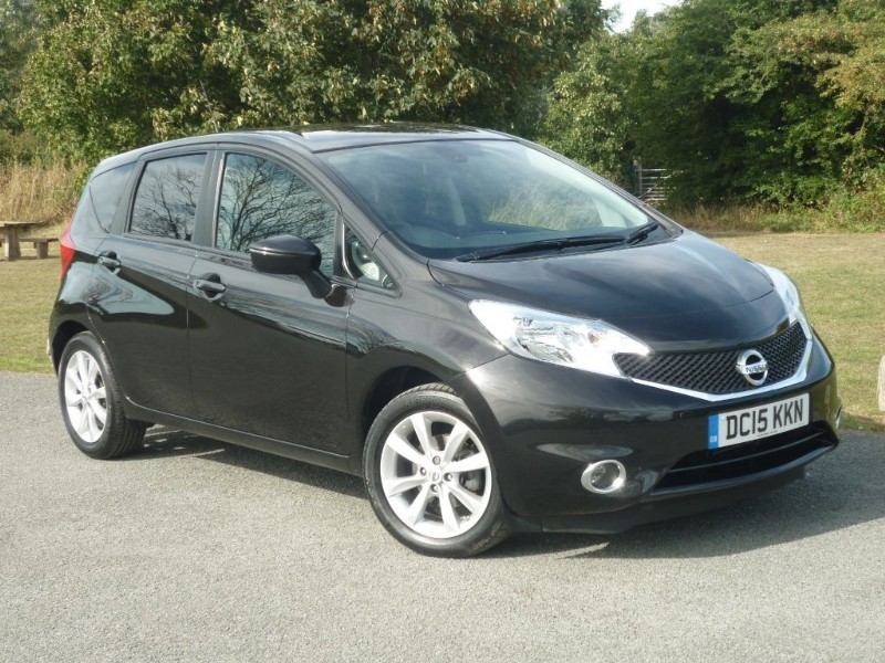 used Nissan Note ACENTA PREMIUM DIG-S in wirral-cheshire