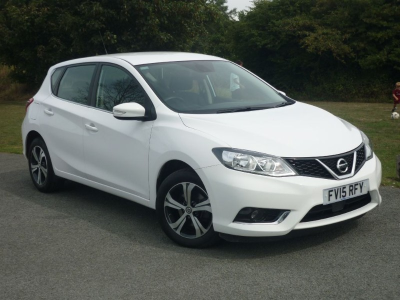 used Nissan Pulsar ACENTA DIG-T XTRONIC AUTO in wirral-cheshire