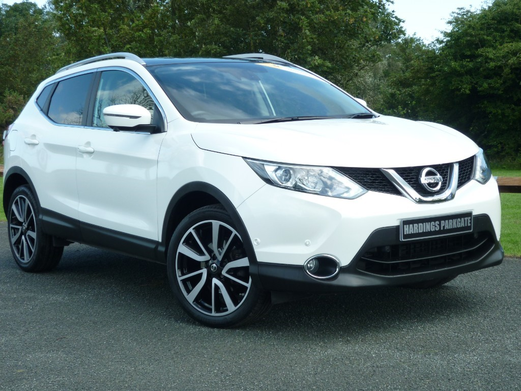 used Nissan Qashqai DCI TEKNA in wirral-cheshire