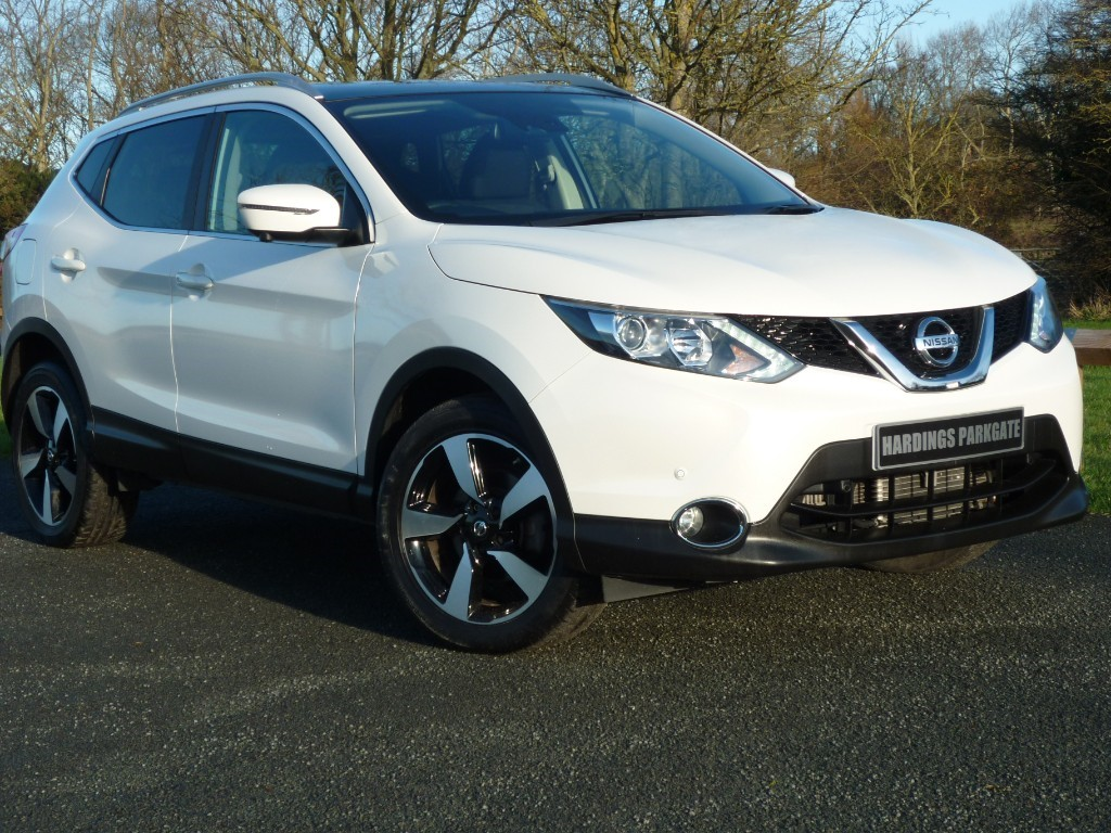 used Nissan Qashqai N-CONNECTA DCI XTRONIC AUTO in wirral-cheshire