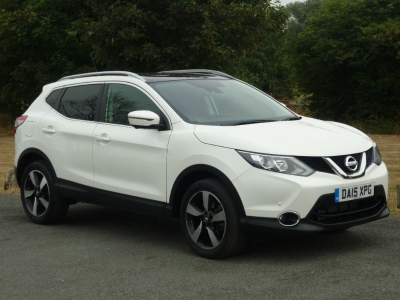 used Nissan Qashqai N-TEC + DIG-T  in wirral-cheshire