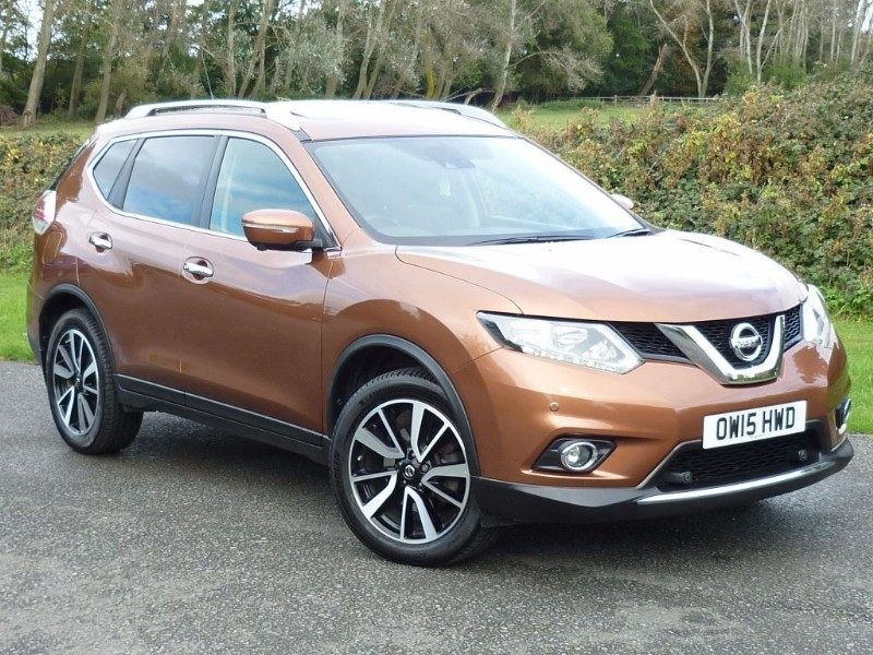 used Nissan X-Trail DCI N-TEC 7-SEAT XTRONIC AUTO WITH 1 YEAR AA MEMBERSHIP** in wirral-cheshire