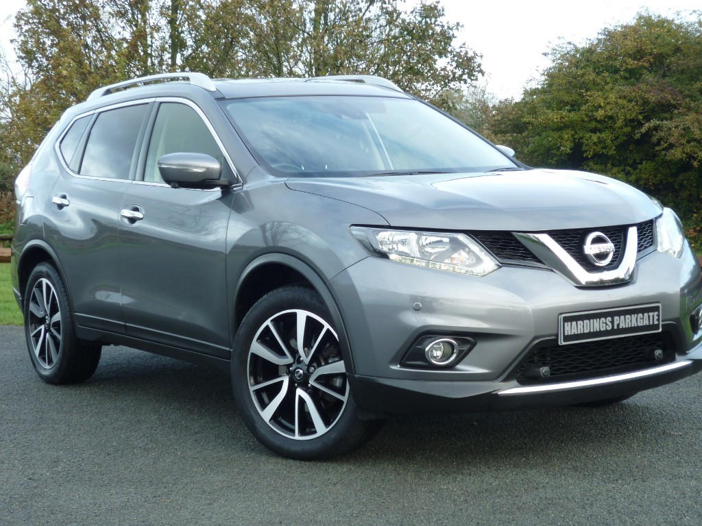 used Nissan X-Trail N-VISION DCI XTRONIC 7-SEAT in wirral-cheshire