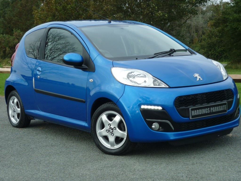 used Peugeot 107 ALLURE in wirral-cheshire