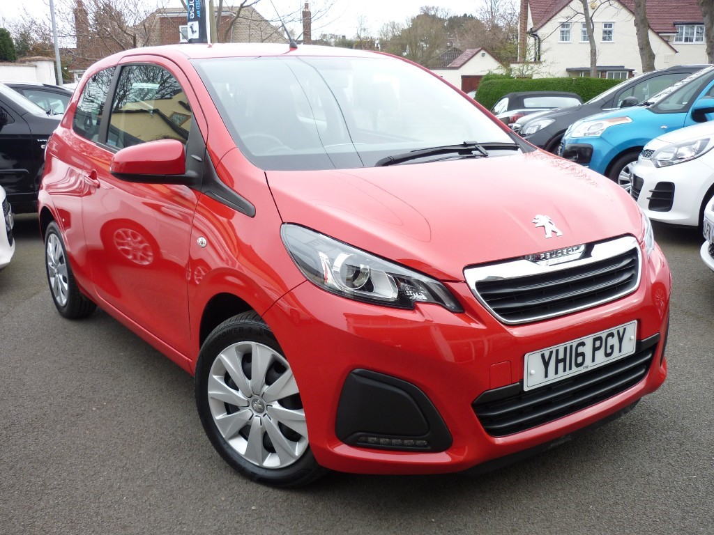 used Peugeot 108 ACTIVE in wirral-cheshire
