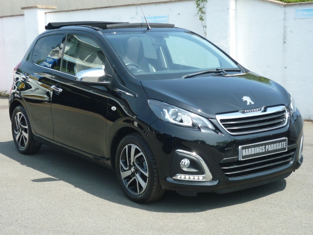 used Peugeot 108 ALLURE TOP CONVERTIBLE AUTO used cars in wirral-cheshire