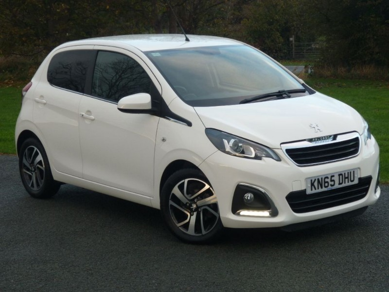 used Peugeot 108 PURETECH ALLURE in wirral-cheshire