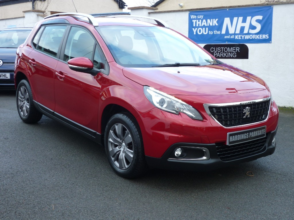 used Peugeot 2008 S/S ACTIVE AUTO WITH 2 YEARS FREE SERVICING* used cars in wirral-cheshire