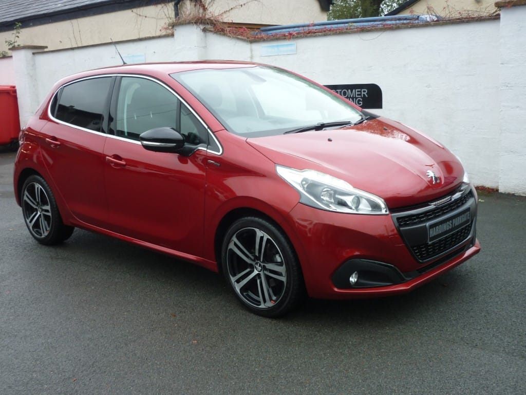 used Peugeot 208 S/S GT LINE 2 YEARS FREE SERVICING* used cars in wirral-cheshire