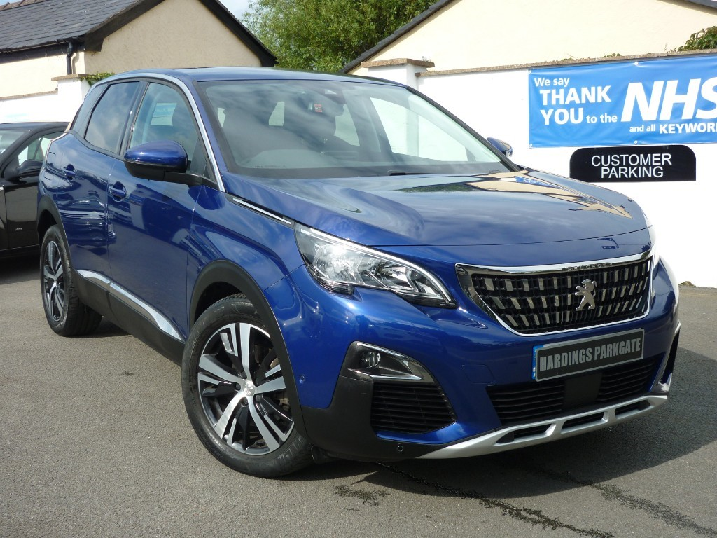 used Peugeot 3008 BLUEHDI S/S ALLURE AUTO + AA WARRANTY used cars in wirral-cheshire