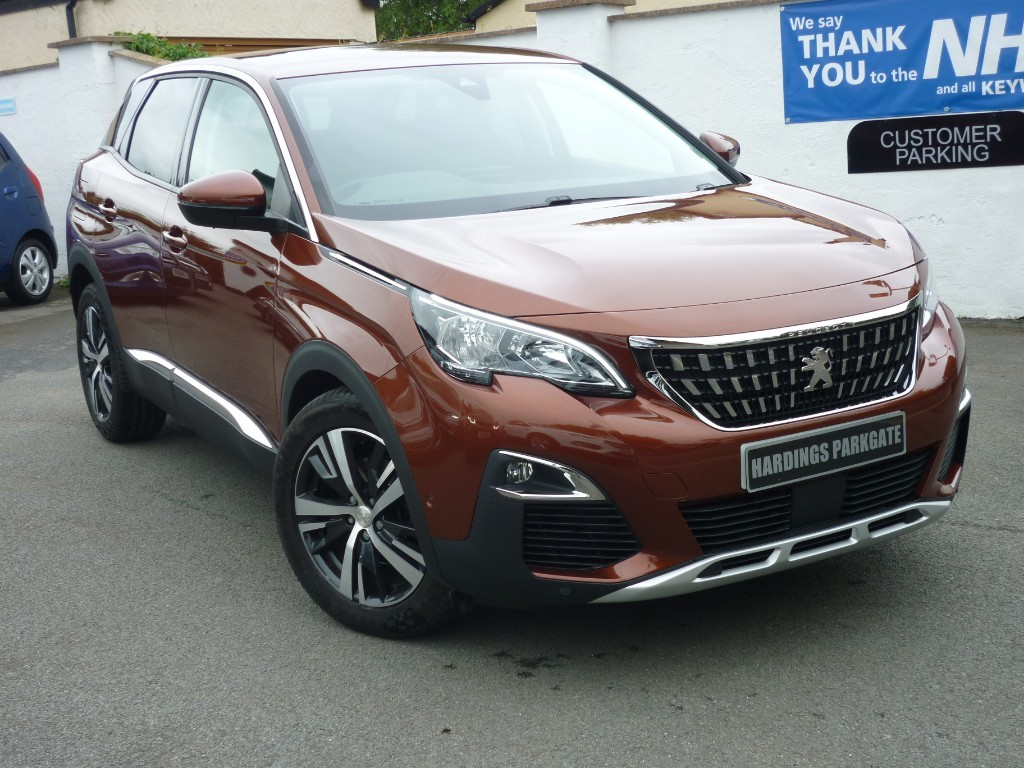 used Peugeot 3008 S/S ALLURE + AA WARRANTY used cars in wirral-cheshire