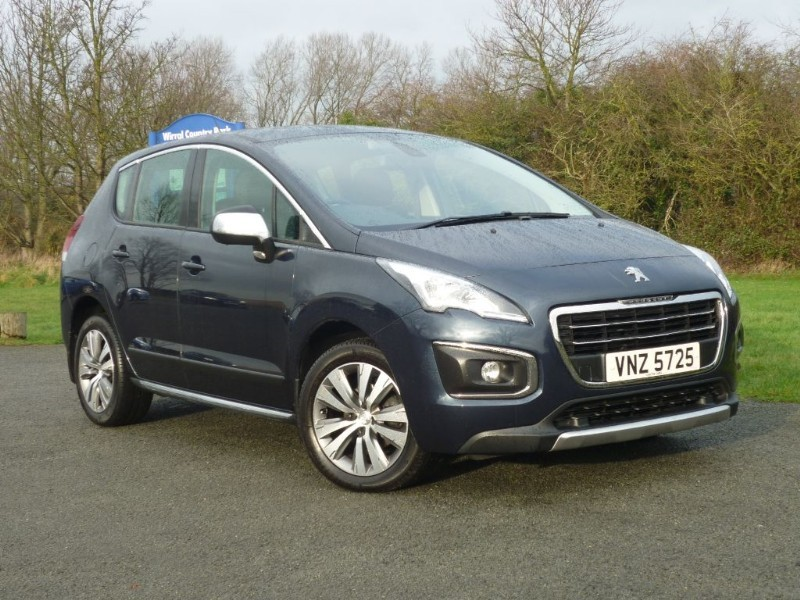 used Peugeot 3008 E-HDI ACTIVE AUTO in wirral-cheshire