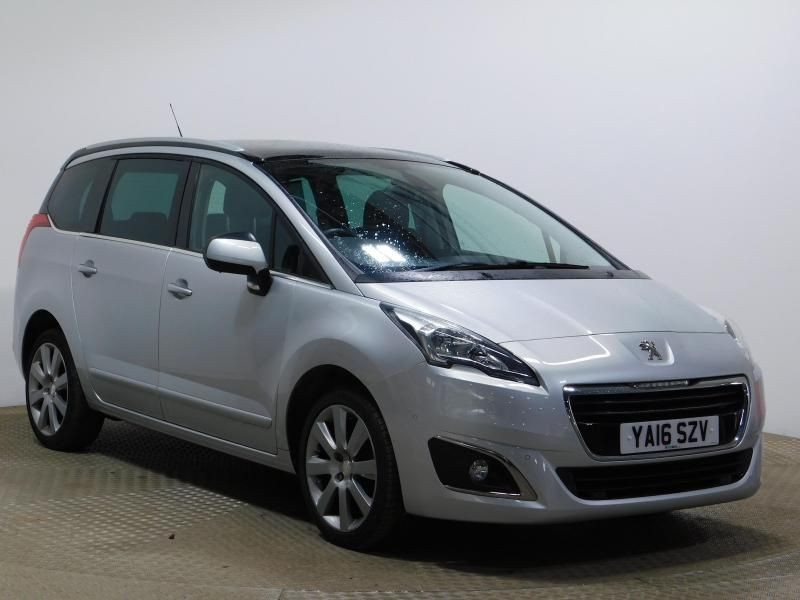 used Peugeot 5008 BLUE HDI S/S ALLURE in wirral-cheshire