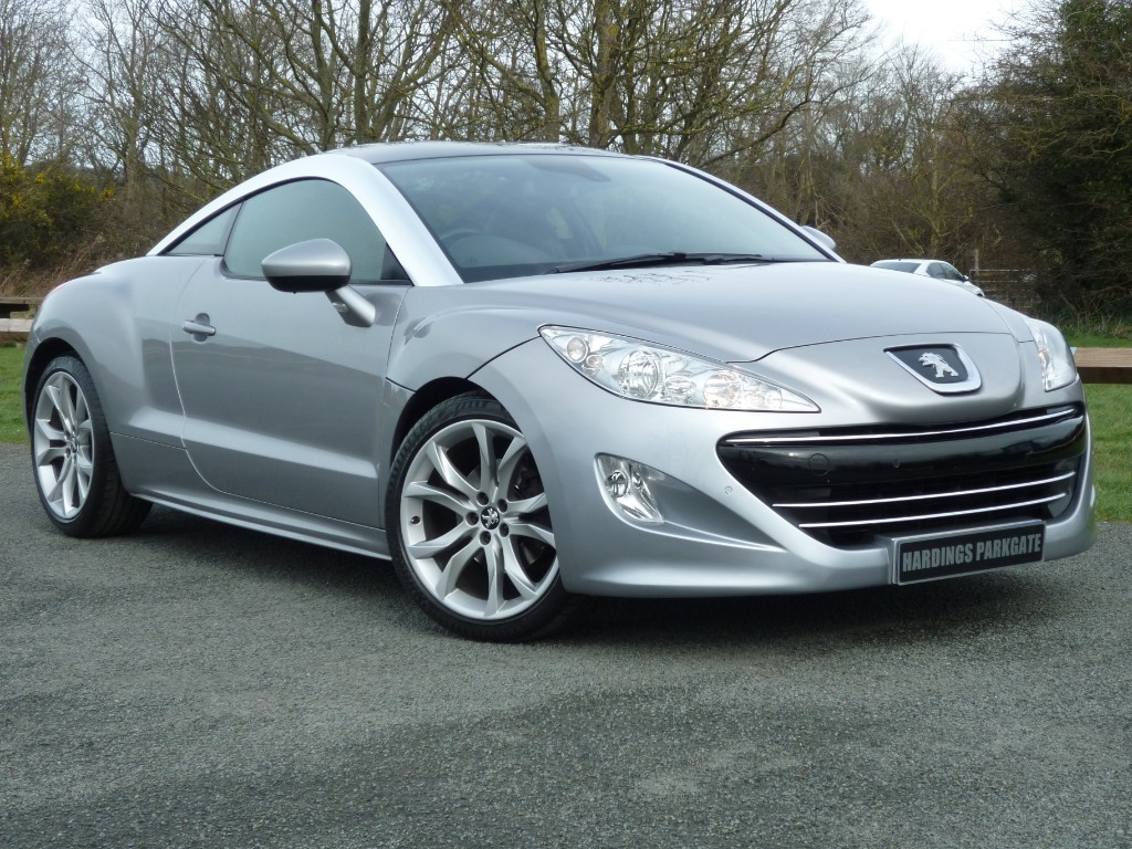 used Peugeot RCZ THP GT AUTO WITH 2 YEAR FREE SERVICING* in wirral-cheshire