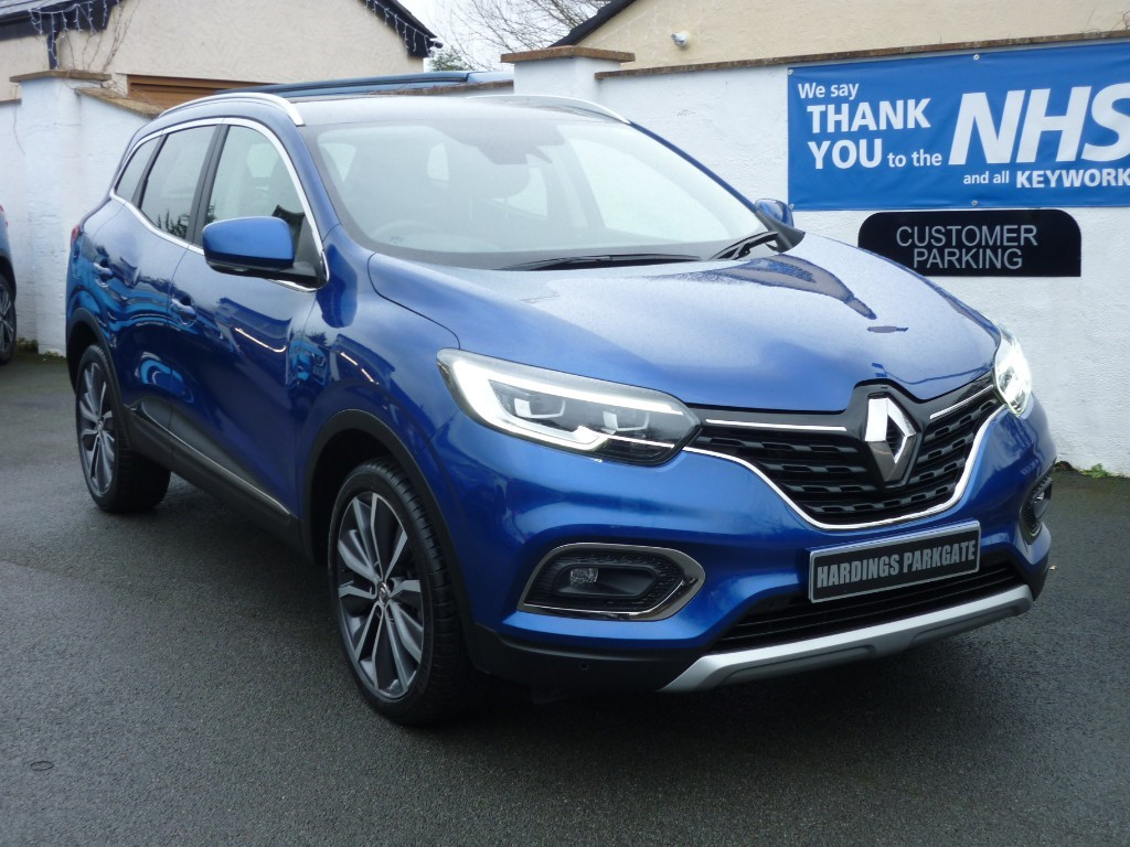 used Renault Kadjar S EDITION TCE WITH 2 YEARS FREE SERVICING* used cars in wirral-cheshire