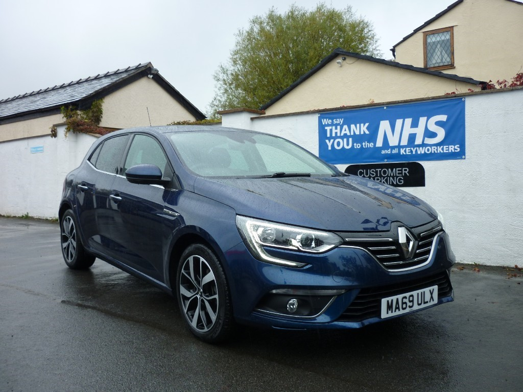 used Renault Megane ICONIC TCE BALANCE OF RENAULT WARRANTY used cars in wirral-cheshire