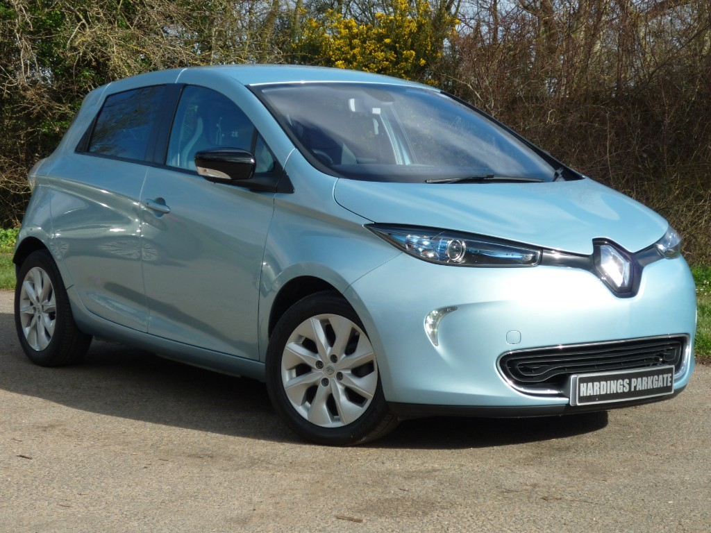 used Renault Zoe DYNAMIQUE INTENS EV in wirral-cheshire